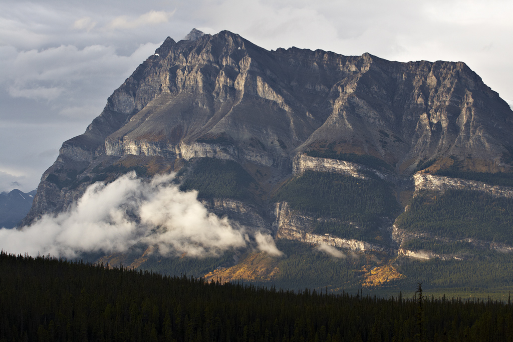 Icefields Parkway in Banff National Park