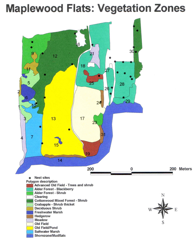 Maplewood Flats: Vegetation Zones
